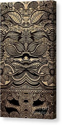Sharpie Markers Canvas Prints