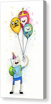Birthday Party Canvas Prints