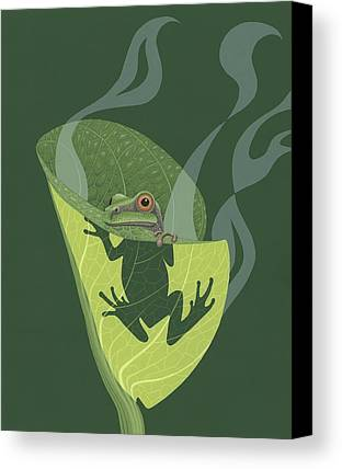 Amphibians Canvas Prints