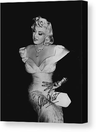 Mae West Canvas Prints