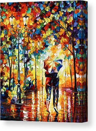 Stroll Canvas Prints