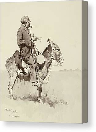 Remington Drawings Canvas Prints