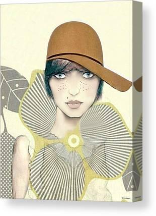 Tomboy Digital Art Canvas Prints