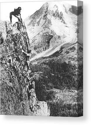 Valleys And Peaks Canvas Prints