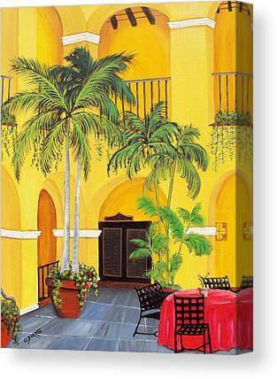 Puerto Rico Convent Canvas Prints