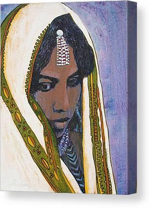 Ethiopian Woman Canvas Prints