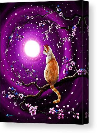 Flame Point Siamese Canvas Prints