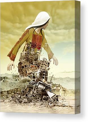 Gaza Canvas Prints