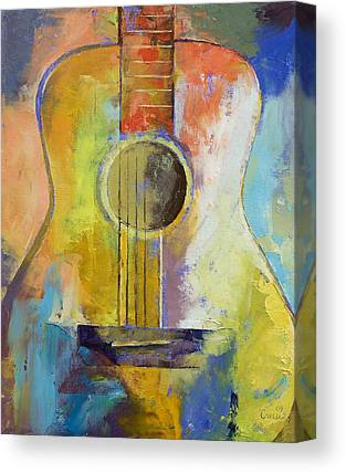Gitarre Canvas Prints