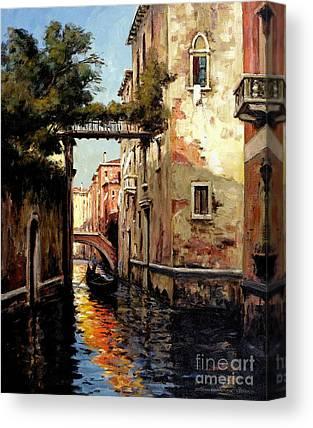 Flooding Canvas Prints