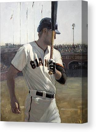 Hunter Pence Paintings Canvas Prints