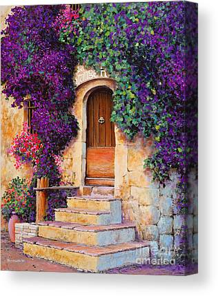 Medieval Entrance Paintings Canvas Prints