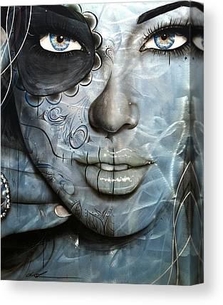 Dia De Los Muertos Canvas Prints