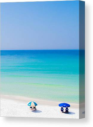 Beaches In Florida Canvas Prints
