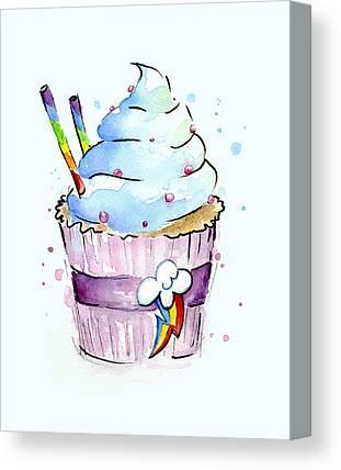 Cupcakes Canvas Prints