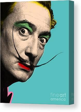 Salvador Dali Canvas Prints