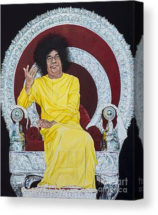 India Babas Paintings Canvas Prints