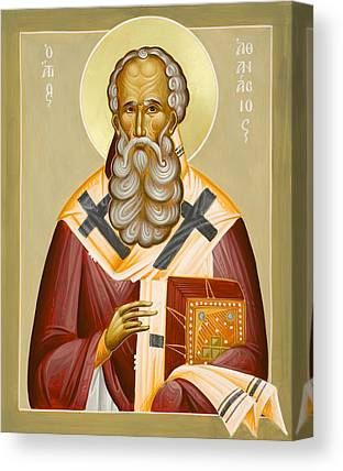 St Athanasios The Great Canvas Prints