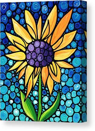 Sunflower Patch Canvas Prints