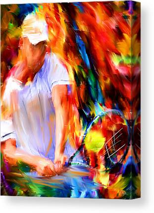 Racket Canvas Prints