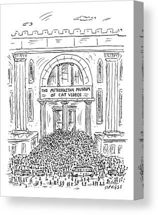 Metropolitan Drawings Canvas Prints