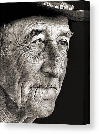 Julie Dant Portraits Canvas Prints