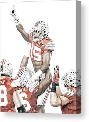 Ohio State Football Canvas Prints