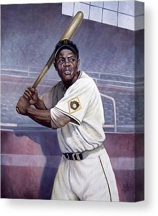New York Baseball Parks Paintings Canvas Prints