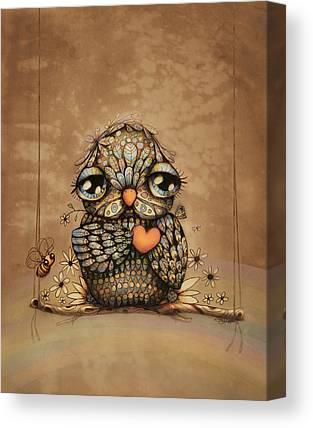 Concern Digital Art Canvas Prints