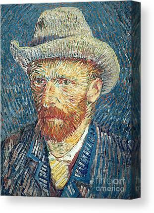 Van Goghs Ear Canvas Prints