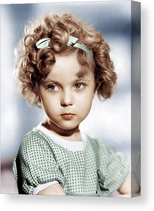 Shirley Temple Canvas Prints