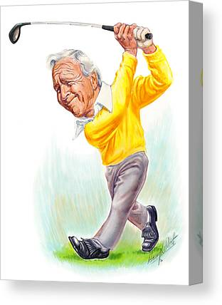 Arnold Palmer Canvas Prints