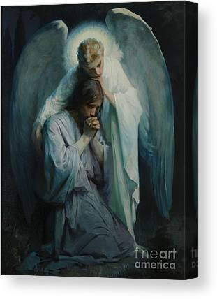 Angel Canvas Prints