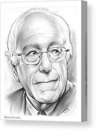 Bernie Sanders Canvas Prints