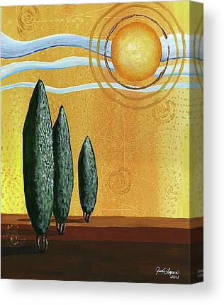 Sunny Day Canvas Prints