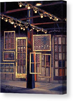 The Factory In Franklin Tennessee Canvas Prints