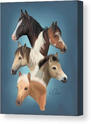 Chincoteague Canvas Prints
