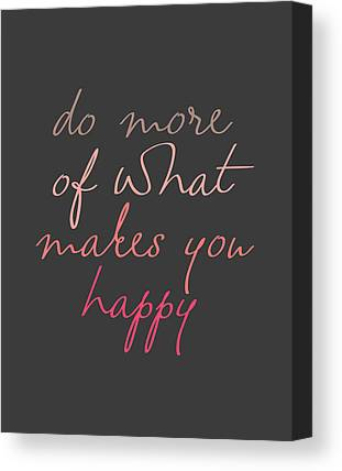 Happiness Canvas Prints