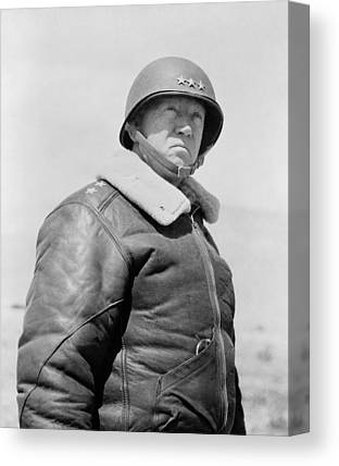 George Patton Canvas Prints