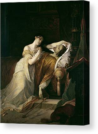 Joanna The Mad With Philip I The Handsome Canvas Prints