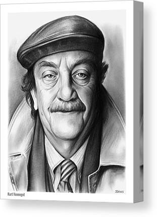 Vonnegut Canvas Prints