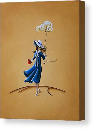 Sailors Girl Canvas Prints