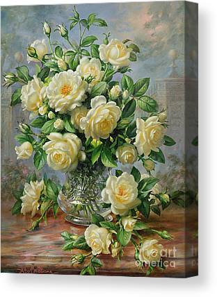 Rose In Bloom Canvas Prints