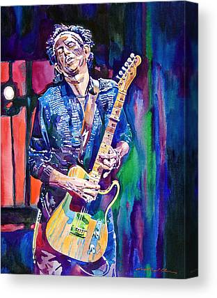 Rolling Stones Paintings Canvas Prints