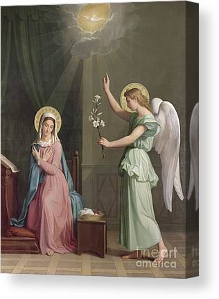 Annunciation Canvas Prints