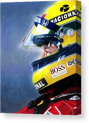 Formula One Canvas Prints