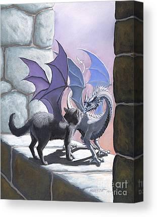 Fantasy Cats Canvas Prints