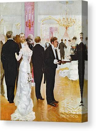 Cocktail Dress Canvas Prints