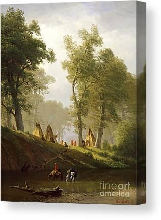 Settlements Canvas Prints