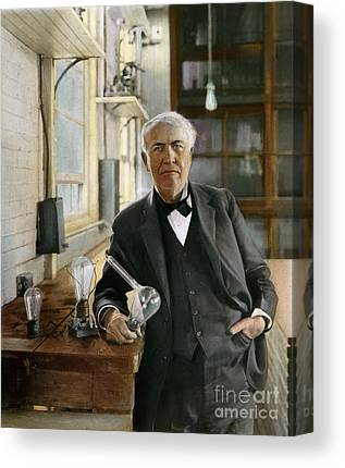 Edison Canvas Prints